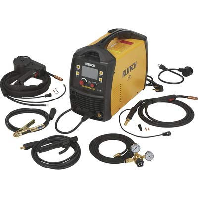 Klutch MIG Welder with Multi-Processes, Spool Gun, LCD Display and...
