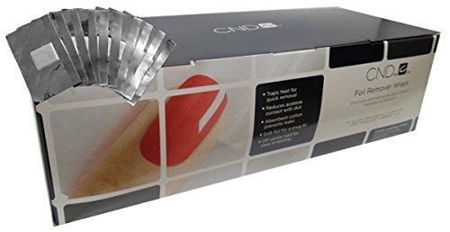 CND SHELLAC - 250ct foil wraps, 7 ml