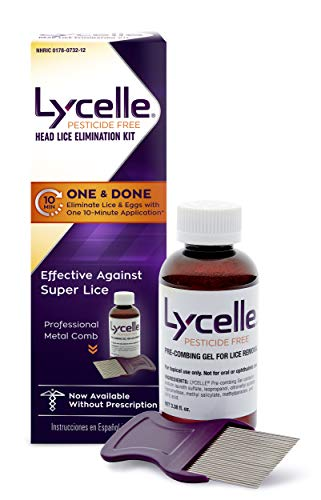 Lycelle Head Lice Removal Kit, Pesticide Free, 3.38 Oz