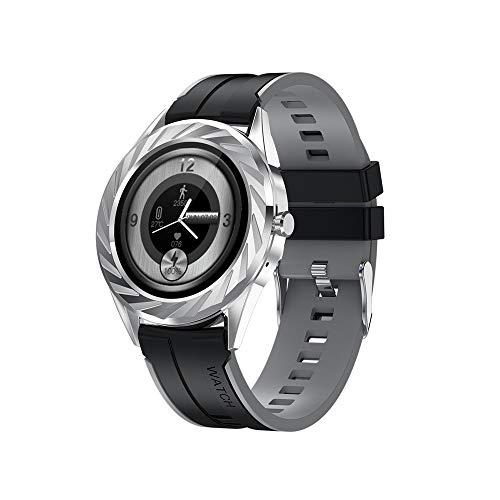 WuMei101 Relojes inteligentes para hombres y mujeres, seguimiento de la actividad de la pantalla táctil completa con el monitor de sueño de frecuencia cardíaca, reloj inteligente impermeable con el po