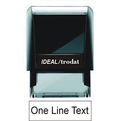 One Line Custom Rubber Stamp - Self Inking