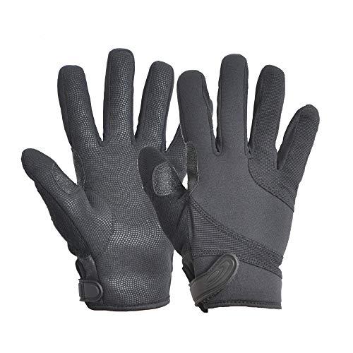 HATCH SGK100 Street Guard Cut-Resistant Tactical Police Duty Glove with Kevlar - Black, Large