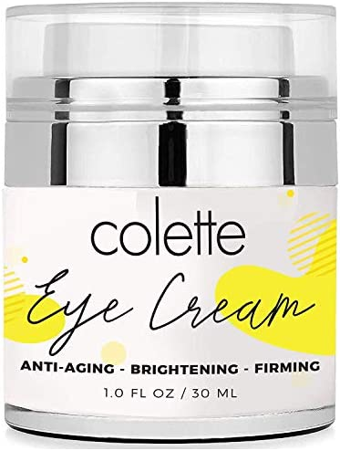 Colette Anti Aging Premium Eye Cream Moisturizer for Dark Circles Eye Bags and Puffiness Reduce product image