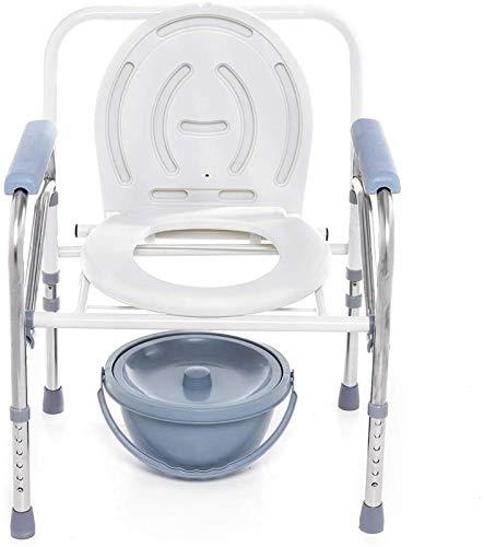 Taburete de Ducha Sillas de ducha para personas mayores, baño portátil plegable baño para ir al baño para orinar con conveniente asiento cómodo silla de ducha de asiento sin deslizamiento para persona