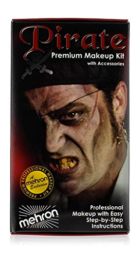 mehron Premium Character Makeup Kit Pirate