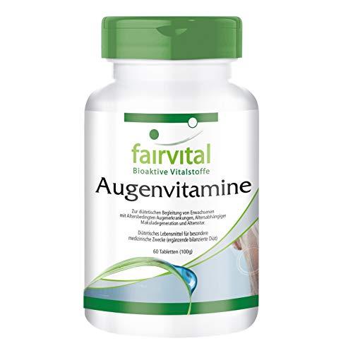 Vitaminas para los Ojos - Multivitamínico - 60 Comprimidos - Calidad Alemana