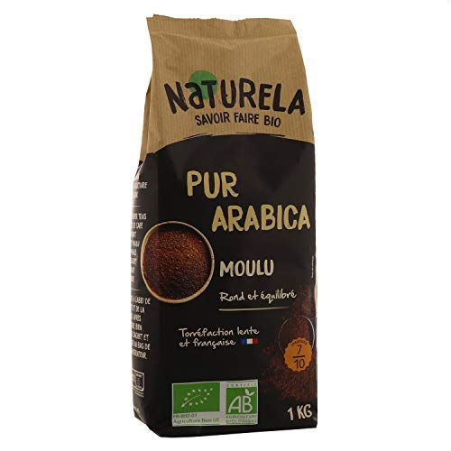 Naturela Café Moulu Bio Pur Arabica - 1 kg
