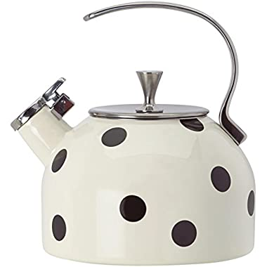 KSNY All in Good Taste 856751 Metal Deco Dot Kettle, No Color