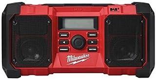 Milwaukee 4933451252 M18JSRDAB 18v JOBSITE DAB RADIO-M18JSRDAB+-0, 18 V, Green, One size