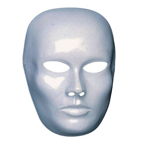 Masque Visage - Deguisement Halloween Carnaval - Blanc - 704