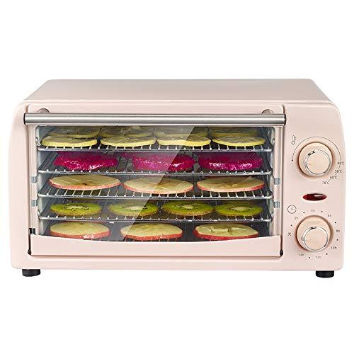 Best Bargain PDGJG Fruit Dryer Household Small Food Air Dryer Dry Fruit Machine Pet Dry Meat Fruit V...