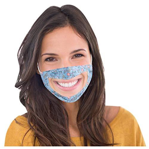 SHUANGA transparent Face Cover Multifunktionstuch Motorrad Winddicht Atmungsaktiv Mundschutz Halstuch Schön Atmungsaktiv Sommerschal Augenschutz mit 5 austauschbaren Filter