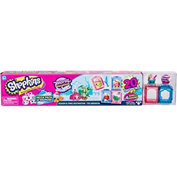 Shopkins Season 8 America Mega Pack | Shopkin.Toys - Image 1