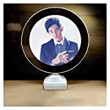 TMCQZBTY Jay Chou Makeup Mirror, Luminous Photo Frame and Peripheral Products The Miracle of Chinese Music (Color : A)