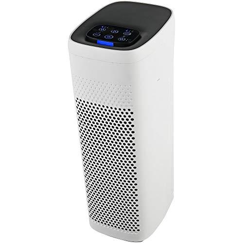 Ardes ARM8P03 Purificador de aire PYOUR con filtro HEPA 13 y filtro de carbón activo con indicador luminoso de la calidad del aire Genera iones negativos automáticamente aire limpio 360°, potente y S