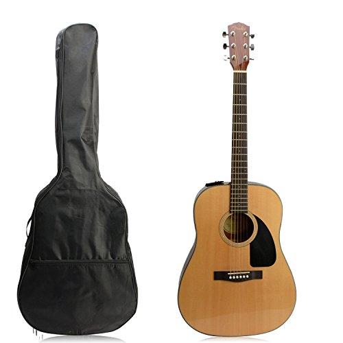 Gitarrentasche 40 41 Zoll Gitarre Tasche Akustik Guitar Gig bag Guitar Case Wasserdicht Gitarrenhülle Tasche Für Gitarre Rucksack Guitar Bag Gitarren Tasche Reißfest Schwarz