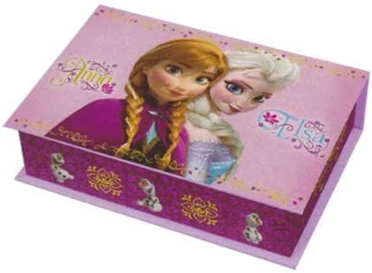 Ana and queen premium small music box pink single item with a purse of snow