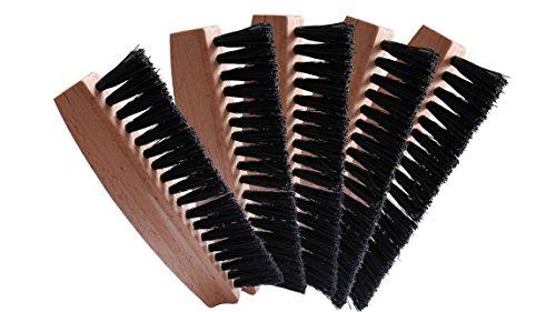 kaufMAX Tischbesen/Fusselbürste/Mini- Kleiderbürste Fusselex (5er-Set) Entfernen von Krümmeln, Fusseln und Haar, als Ersatz für die Fusselrolle - Fusselentferner im Handtaschenformat