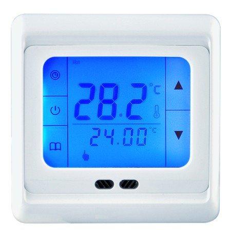 Touch-Screen Thermostat HT07 Blue für elektrische Fußbodenheizung mit TWIN-Technologie