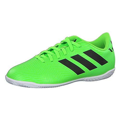 adidas Unisex-Kinder Nemeziz Messi Tango 18.4 IN Futsalschuhe, Grün (Versol/Negbás/Versol 000), 29 EU
