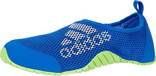 adidas outdoor Unisex-Kid's KUROBE K Water Shoe, Glory Blue/White/Signal Green, 6 M US Big Kid