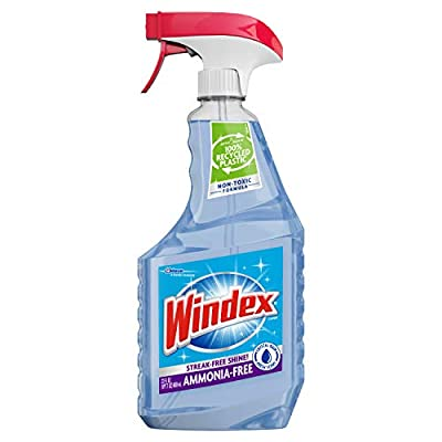 Windex Crystal Rain Glass Cleaner Trigger 23 Fluid Ounces