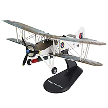 LEIPUPA 1/72 Scale FAIREY Swordfish Bomber Fighter Alloy Aircraft Collectibles
