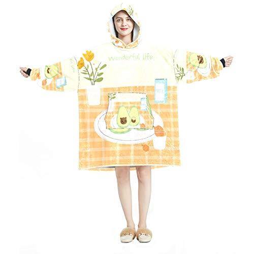 Sudadera con capucha para mujer, cómoda para mujer, chándal relajado, cálido y brillante