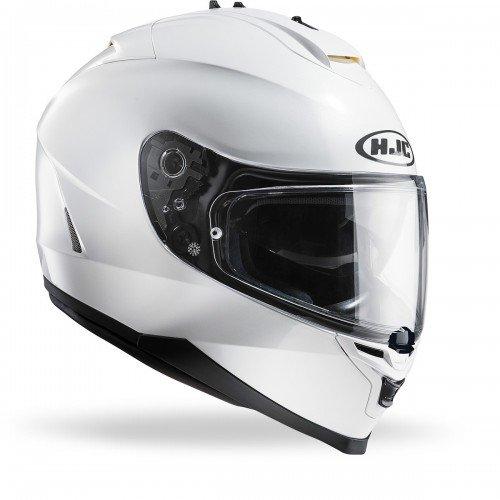 HJC 12152906 Casco de Moto, Blanco...