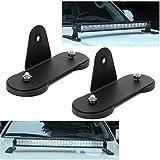 Support de fixation magnétique, barre de lumière LED pour toit de voiture modifiée, support ventouse magnétique avec base...