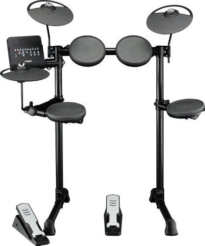 5. Yamaha DTX400K Compact Electronic Drum Set