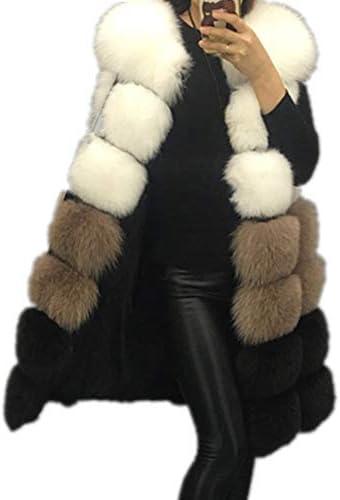 New Fashion winter women s fur vest coat Warm long vests fur vests Women faux fur vest coat product image