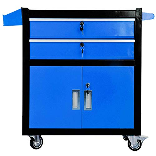 Lowest Price! GBX Multifunction Portable Hand Trucks Recycling Vehicles,Tool Trolley Cart 3-Tier Ind...