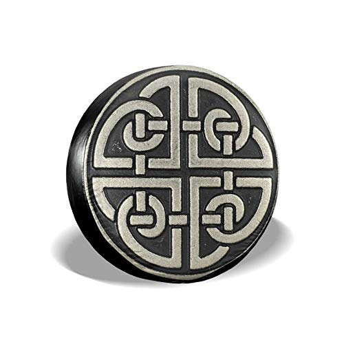 YMDWFV Celtic Shield Knot Spare Tire Cover PVC Thickening Dust-Proof Universal Wheel Tire Cover Fit for Jeep Many Vehicle