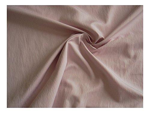 Fabrics-City ROSE NYLONSTOFF GECRASHTE OPTIK MICRO NANOEFFEKT STOFF STOFFE, 2657