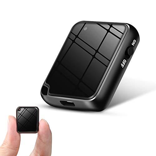 QZT Mini Aufnahmegerät, Mini Diktiergerät Aufnahmegerät - Stimmenaktivierung, Geräuschreduzierung, One-Touch-Aufnahme, MP3, 16GB Mini Voice Recorder für Vortrag, Vorlesung, Lektion, Lernen