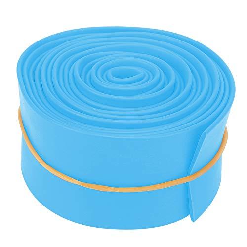 5 cm Tensión Banda, 2.5m Resistencia Bandas Hecho de TPR por Mujeres Chicas (Azul, Naranja)