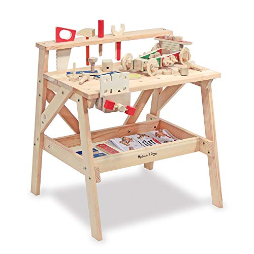 Melissa & Doug Solid Wood Workbench