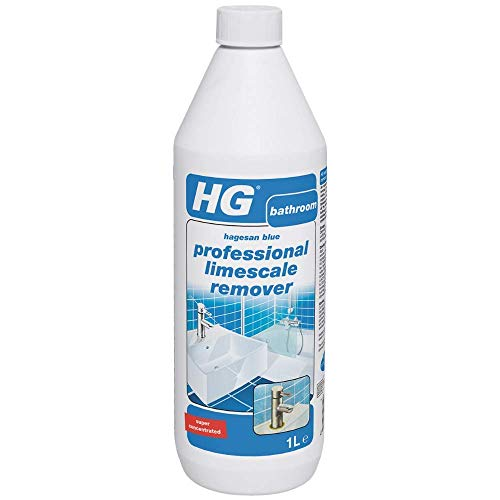 HG Professional Limescale Remover 1L - The most powerful concentrated limescale remover available