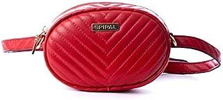 Spiral Bisou Lipstick Red Bum Bag