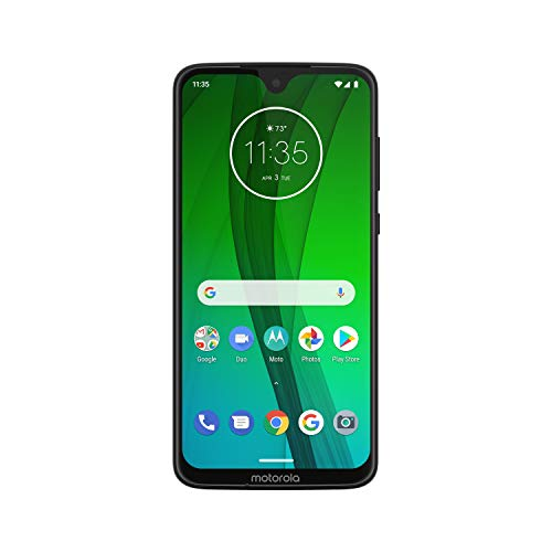 Moto G7 – Unlocked – 64 GB – Ceramic Black (US Warranty) - Verizon, AT&T, T-Mobile, Sprint,...