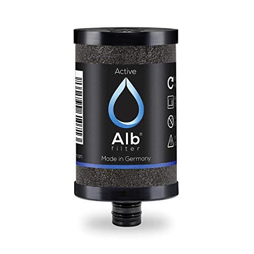 Alb Filter® Active Trinkwasserfilter Ersatzkartusche reduziert Schadstoffe, Schwermetalle, Mikro-Plastik. Made in Germany