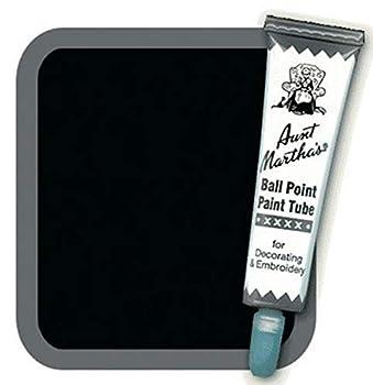 Aunt Martha s Ballpoint Paint Tube 1-Ounce Black
