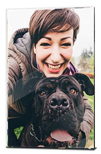 wandmotiv24 Ihr Foto auf Acrylglas - 1-teilig - Hochformat 20x30cm (BxH), SOFORT ONLINE VORSCHAU, personalisiertes Glasbild mit Wunsch-Motiv, eigenes Bild als Wandbild, Fotogeschenke, Geschenk