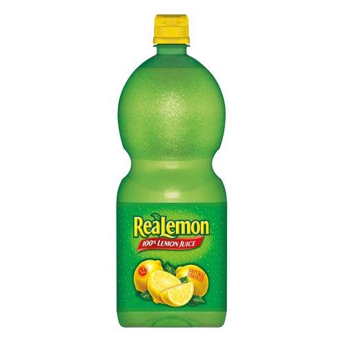 Realemon Lemon Juice, 48-Ounce Bottles (Pack of 4)