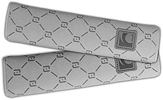 Auto Car Seat Belt Cover Plush Seat Shoulder Pad Cushion 2 Pcs One Pair (Grey))