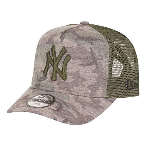 New Era Kids Camo 9 Forty Kinder Trucker Cap NY Yankees Camouflage, Size:Youth