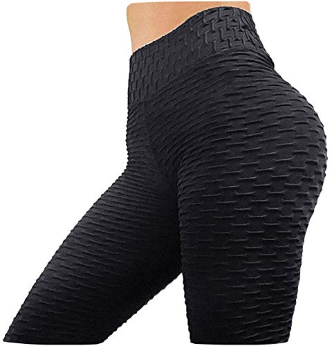SKYFOXE Butt Lifting Anti Cellulite Sexy Leggings for Women High Waisted Yoga Pants Workout Tummy Control Sport Tights