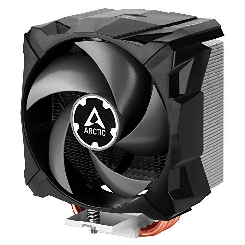 ARCTIC Freezer i13 X CO - Compact Intel CPU Cooler, 100 mm, 300-2000 RPM (Controlled by PWM), Fluid Dynamic Bearing, Pre-Applied MX-2 Thermal Paste - Black (ACFRE00079A_FBA_US)
