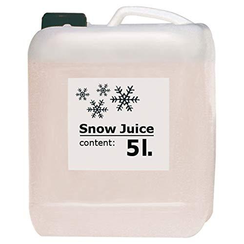 AMERICAN DJ SNOW JUICE - tanica con 5 litri di prodotto per snow machine (macchine per la neve) pronto all'uso